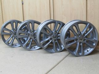 GUNMETAL HONDA CIVIC Si ACCORD ACURA RSX TSX 17 WHEELS RIMS LUGS 06 12