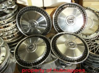 Ford Econoline E150 F150 Pickup Hubcaps Wheel Covers