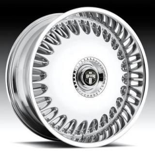26 DUB Billionaire Wheel SET 26x9.5 Chrome Rims RWD 5 & 6 LUG Wheels