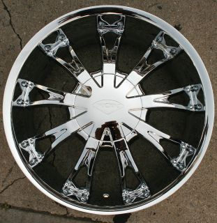 SHOW 320 20 CHROME RIMS WHEELS LINCOLN NAVIGATOR / 20 X 8.5 6H +25