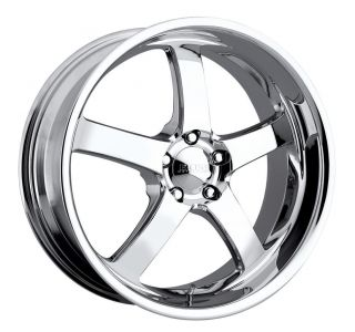 20 inch 20x8 5 Boss 335 Chrome Wheel Rim 5x112 25
