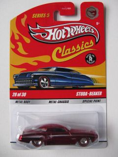 Hot Wheels Classics Series 5 Studa Beaker Chase 28