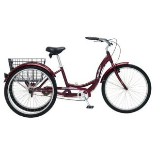 Schwinn 26 3 Wheels Adult Tricycle Trike Road Bike Bicycle Cruiser