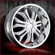 24 inch VCT Godfather Chrome Wheels Rims 6x135 30