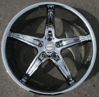 Strada Riga 20 Chrome Rims Wheels Nissan Altima