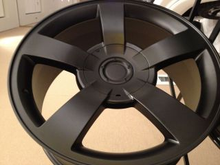 Matte Black Chevrolet Silverado SS Factory Replica wheels rims 6x5 5