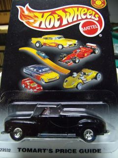 Hot Wheels Tomarts Price Guide 23532 46 Ford Convertible 2000