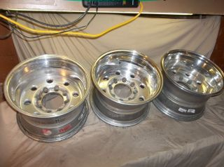 Weld Racing Forged Alloy Polished Aluminum 16x10 Wheels Rims