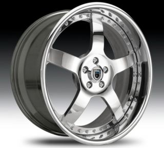 32 asanti AF112 Chrome Wheels Rims 3 Piece
