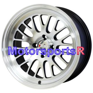 16 16x8 XXR 531 Machine Black Wheels Rims Deep Dish 89 90 91 94 Nissan