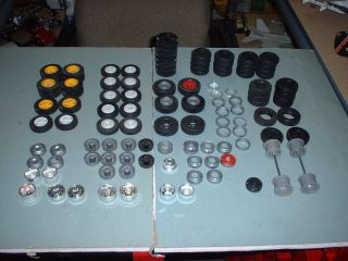 25 scale truck tire rim mega parts lot junkyard lot 2 amt revell KW