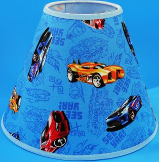 Blue Hot Wheels Lampshade Lamp Shade