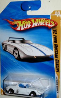 1962 Ford Mustang Concept 2010 Hot Wheels New Model 28 44