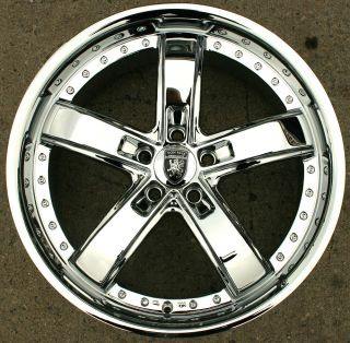 VON MAX VM07 20 CHROME RIMS WHEELS LEXUS ES300 GS300 SC300 20 X 8 5 5H