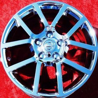 NEW NISSAN SENTRA SE R SPEC V 17 OEM CHROME WHEELS RIMS 62483 EXCHANGE