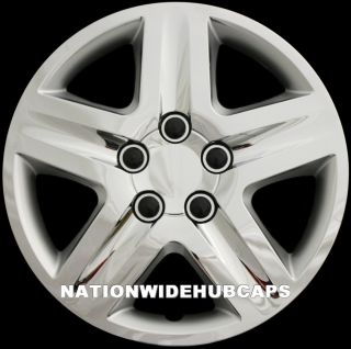 of 4 16 HUB CAPS 5 SPOKE RIM WHEEL COVERS RIMS STAR STEEL WHEELS LUG