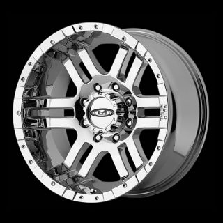 18 Wheels Rims Moto Metal Chrome with 285 60 18 Nitto Terra Grappler