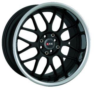 two 18 18x9 5 4x114 3 35 GLOSS BLACK WHEELS RIMS G35 G37 240SX S15 XB