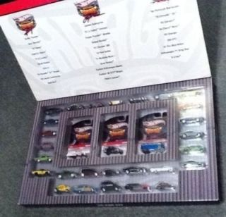 Hot Wheels Garage 30 Car Set Larry Phils Waynes Real Riders Signed