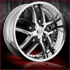20 inch VCT Lombardi Chrome Wheels Rims 5x110 40