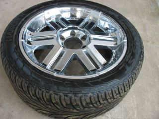 GMC Chevrolet Dodge 20x8 5 Wheel Rim Tire 275 45R20 20