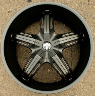S156 22 M Black Rims Wheels Touareg 03 Up 22 x 10 5 5H 45
