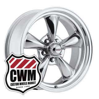 17x7 17x8 Polished Aluminum Wheels Rims 5x4 75 Lug Pattern for Chevy