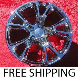 NEW 20 JEEP GRAND CHEROKEE SRT8 OEM CHROME WHEELS RIMS 9113 EXCHANGE