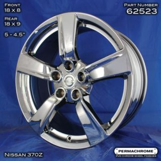 Factory Nissan 370Z 18 PVD Chrome Wheels Exchange