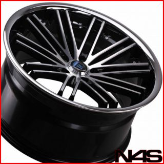 20 Audi B8 A5 Rohana RC20 Machined Concave Wheels Rims