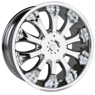 18 Chrome Wheels Rims Chevy Tahoe Surban Silverado 1500 Alavanche