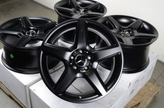 18 AMG Staggered Wheels Rims 5x112 Mercedes Benz CL500 C55 C63 CLK55