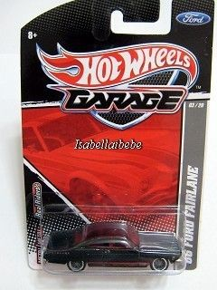 Hotwheels Garage 3 66 Ford Fairlane 1 64 Diecast Car