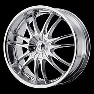 American Racing 84588005242 Helo Series 845 Chrome Wheel