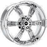 22 inch Chrome Wheels Rims Nissan Armada Titan QX56 New