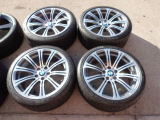 19 Factory BMW E92 M3 E90 Wheels Rims Michelin Tires Great Shape