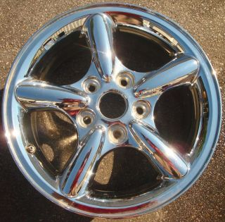 17 2002 03 04 Jeep Grand Cherokee Alloy Wheel Rim Chrome