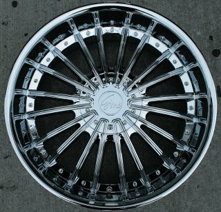 RVM 487 22 Chrome Rims Wheels Nissan Armada QX56