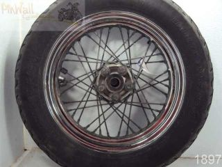 Harley Davidson Touring Ultra Rear Wheel Rim Tire