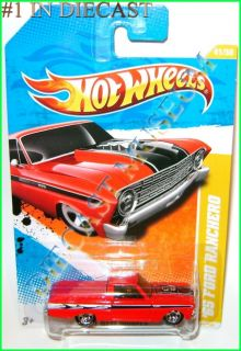 1965 65 Ford Ranchero Hot Wheels HW Diecast 2011