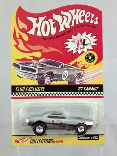 2002 HOT WHEELS COLLECTORS SERIES 1 67 CAMARO HWC RLC CLUB EXCLUSIVE
