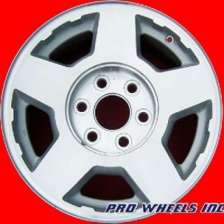 Chevrolet 1500 Series Tahoe 17 Machined Silver Wheel Rim 5196