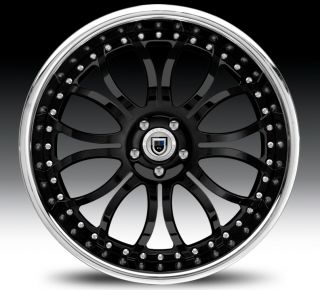 24inch AF150 AF151 AF152 Chrome Multi 2 Piece Rims Wheels Tires
