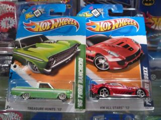 2012 Hot Wheels Treasure Hunt 65 Ford Ranchero Ferrari 599XX