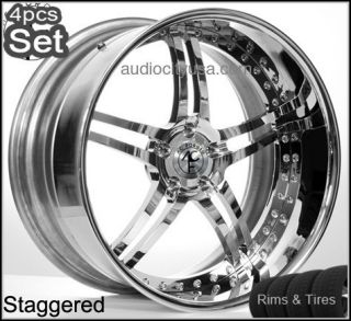 Forged Wheels and Tires Pkg for Mercedes Benz 3pc Forged Rims