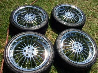 20 BMW Wheels Tires e38 e65 e66 740 745 750 740i 745i 750i 740il 750li
