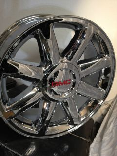 Chrome GMC Sierra Yukon Denali Factory OE Wheels Rims 20x8 5 6x5 5