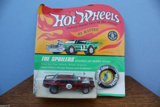 Mattel Hot Wheels Redline Nitty Gritty Kitty Red Unpunched Blister