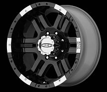 F350 Super Duty Pickup Truck Black Rims Wheels 16x9 8x170 New