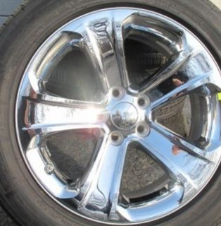 Dodge Charger Factory Chrome 18 inch Wheels